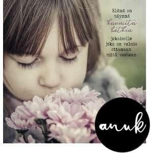 Anu Kovalainen -neliöpostikortit